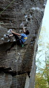 Rock Climbing Photo: Me on Jesus Wept. Such a great route, hopefully I'...