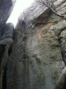 Rock Climbing Photo: Not the best photo in the world, but it does show ...