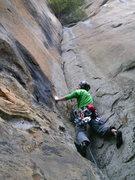 Rock Climbing Photo: Start of the 1st pitch