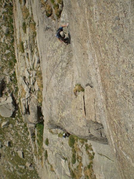 Ken and Marsha Trout on Emancipation Arete.