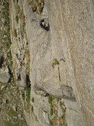 Rock Climbing Photo: Ken and Marsha Trout on Emancipation Arete.