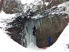 Rock Climbing Photo: Go up the hard way, walk, go up again..