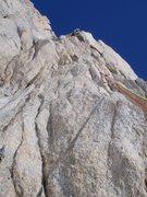 Rock Climbing Photo: Early pitch