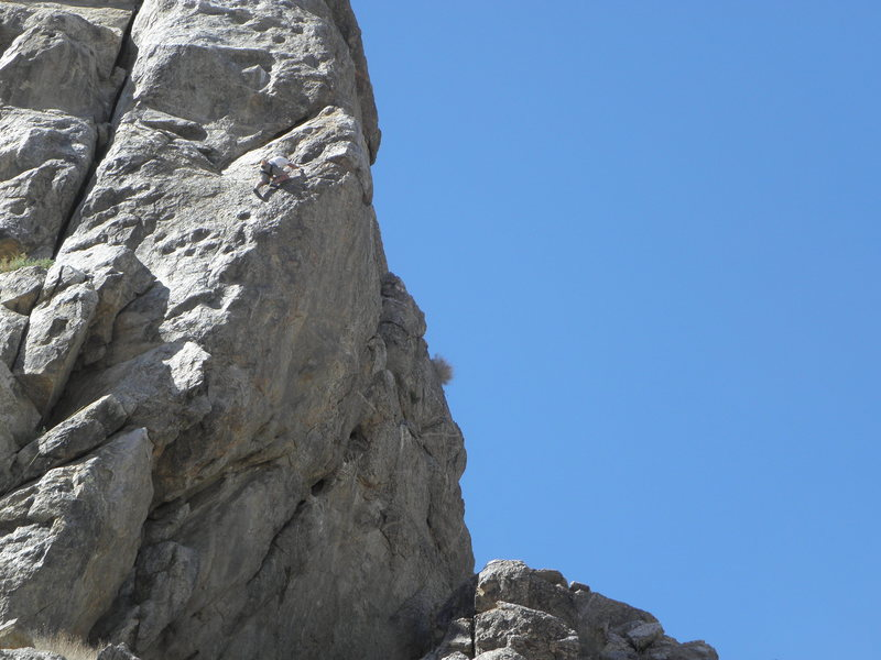 Rock Climbing Photo: Kelly Vaught on I Love Animals, They Taste Good.