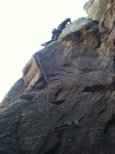 Rock Climbing Photo: FA Space Junk
