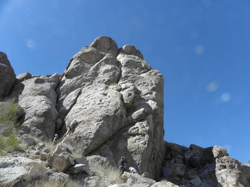 Rock Climbing Photo: PETA Crag