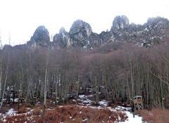 Rock Climbing Photo: Denti in the winter.