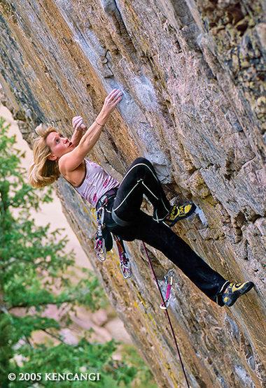 Rock Climbing Photo: 2005 photoshoot of Robyn Erbesfield climbing The W...