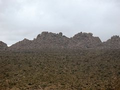 Rock Climbing Photo: Virgin Isles from the south, Joshua Tree NP