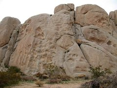 Rock Climbing Photo: Pickpocket Rock, Joshua Tree NP