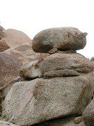Rock Climbing Photo: Erosion art, Joshua Tree NP