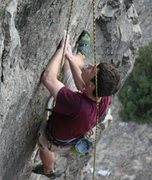 Rock Climbing Photo: Following on Spermatose.