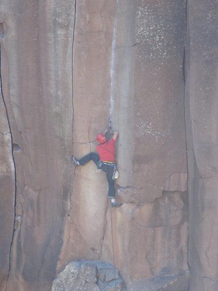 Rock Climbing Photo: Crush
