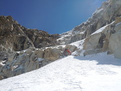 Rock Climbing Photo: once you find the central gully, head through this...