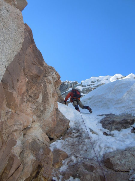 Rock Climbing Photo: just an idea of the average climbing difficulty on...