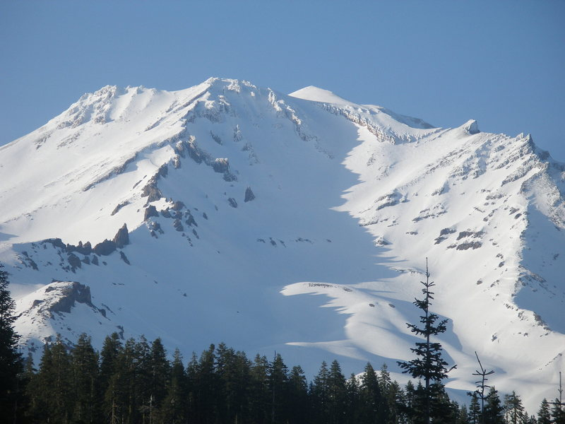 Cassaval Ridge is to the left, Green Butte Ridge is to the right