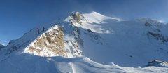 Rock Climbing Photo: ~7,500 ft up the West Ridge