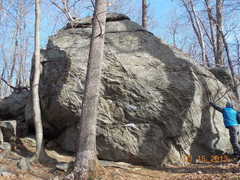 Rock Climbing Photo: The Tomato Boulder