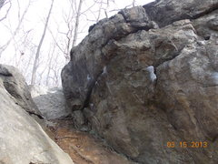 Rock Climbing Photo: Iron Cross