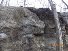 Rock Climbing Photo: Another view of Mack's Crack