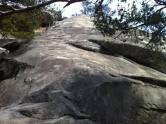 Rock Climbing Photo: Start of the climb