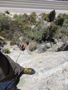 Rock Climbing Photo: Nice easy low level climb. Great for starting out ...