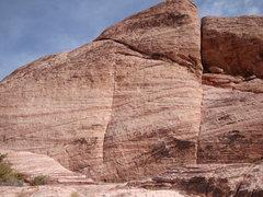 Rock Climbing Photo: Shot of the wall.
