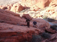 Rock Climbing Photo: Not a low impact easy approach but also not diffic...