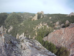Rock Climbing Photo: The view that you are rewarded with when you get t...