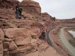 Rock Climbing Photo: rap station