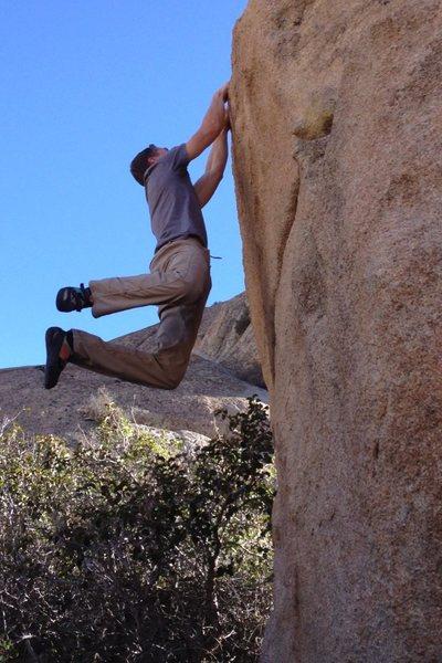 Rock Climbing Photo: The stick