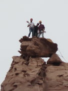 Rock Climbing Photo: on the window