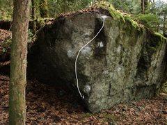 Rock Climbing Photo: 1. Cerebro