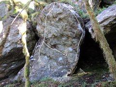 Rock Climbing Photo: 1. VB Arete 2. Omega Man 3. Sapiosexual
