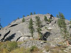 Rock Climbing Photo: Fat Albert climbs the obvious arch in the bottom o...