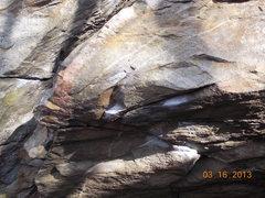 Rock Climbing Photo: Sit Down Problem