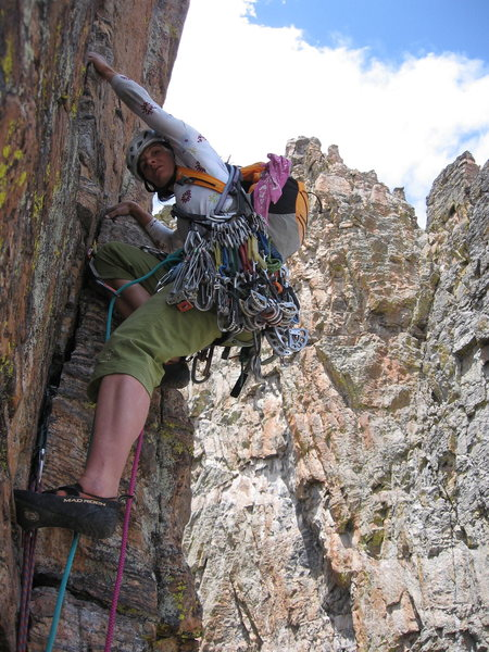 Rock Climbing Photo: Petit Grepon, RMNP, CO