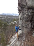 Rock Climbing Photo: Just befor the steep part