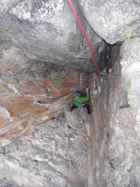 Rock Climbing Photo: SJ on p5.