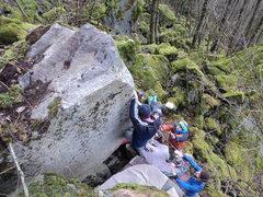Rock Climbing Photo: Lowell
