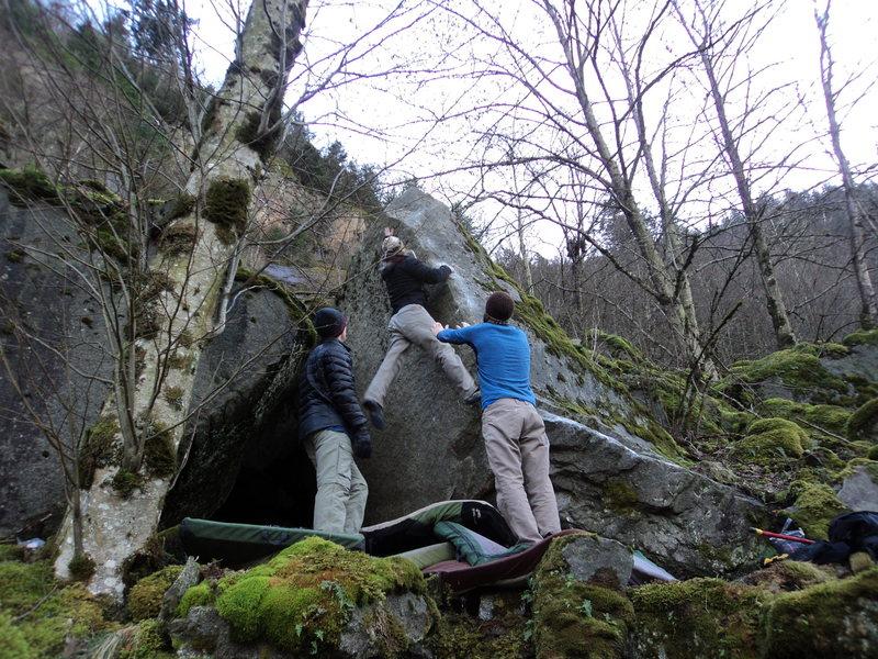 Rock Climbing Photo: Nate G