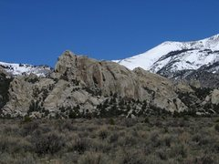 Rock Climbing Photo: Looking towards the Comp Wall with the Taco on the...
