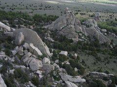 Rock Climbing Photo: Taco, Fence Line, and the Heffalump