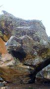 Rock Climbing Photo: Autoerotic problem.