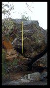 Rock Climbing Photo: Autoerotic problem beta.
