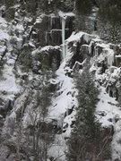 Rock Climbing Photo: Big Brother (taken late December, 2012).