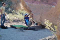 Rock Climbing Photo: For the start, start with your right hand where mi...