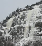 Rock Climbing Photo: The ice routes at Potter Mountain, in really good ...
