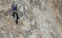 Rock Climbing Photo: Scott Nomi TRing El Chato