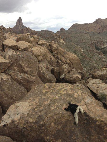 Superstition Wilderness. Weaver's Needle.